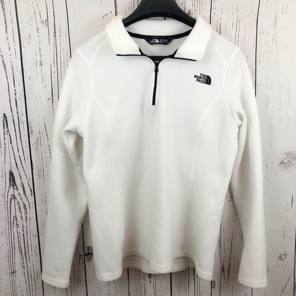 Why Its Good To Pull Over To Side Of >> The North Face Sweaters Northface White 14 Zip Up Pull Over